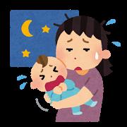 375号子_201206_7か月の長女の寝つきが悪く夫も非協力